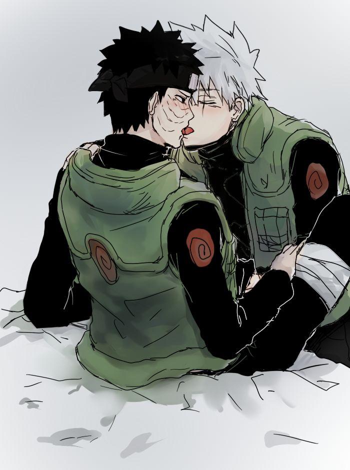 12 best Kakashi X Obito images on Pinterest | Naruto ...