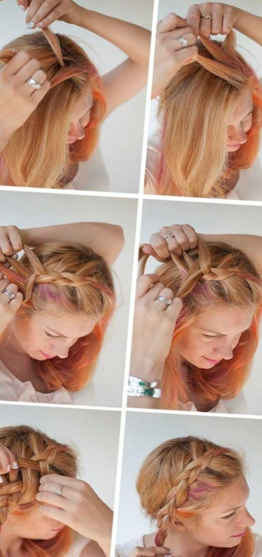 Dirndl Frisuren Mittellange Haare Pinterest Mittellange Haare