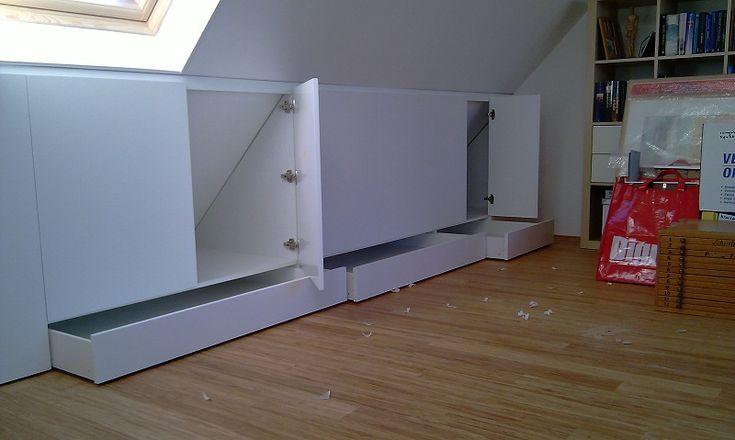 25 beste idee n over zolder kantoor op pinterest zolderkamer zolder kantoor en kelder kantoor - Kantoor decoratie ideeen ...