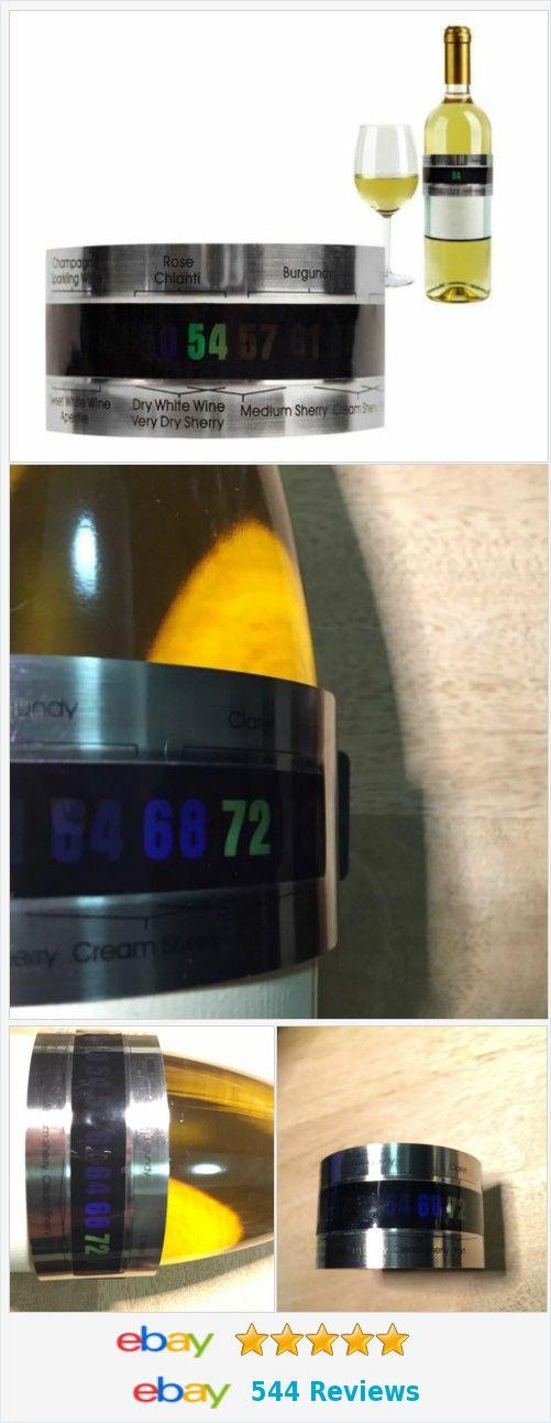 #Wine #Thermometer Wine Cuff for #champagne #chardonnay #rose  http://www.ebay.com/itm/Wine-Thermometer-Wine-Cuff-/182122162106
