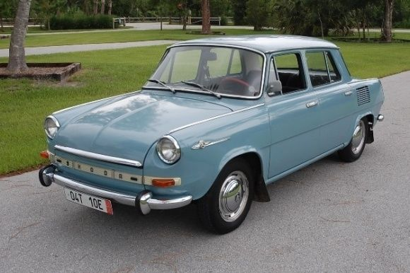 1969 Other Makes SKODA 1000MB De Luxe #Skoda