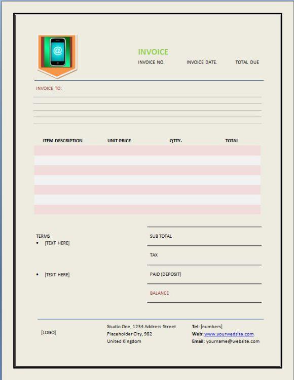 Cellphone Repair Invoice Companies Invoice Template Cell Phone Repair Phone Repair