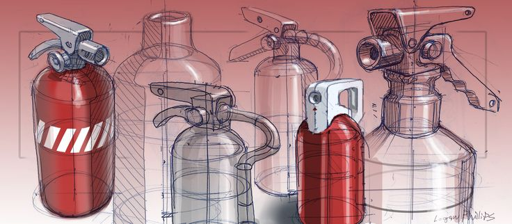 fire-extinquishers #id #industrial #design #product #sketch