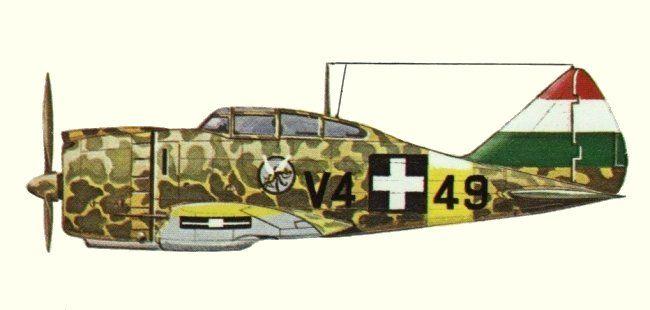 Reggiane Re.2000 - Aviazione ungherese