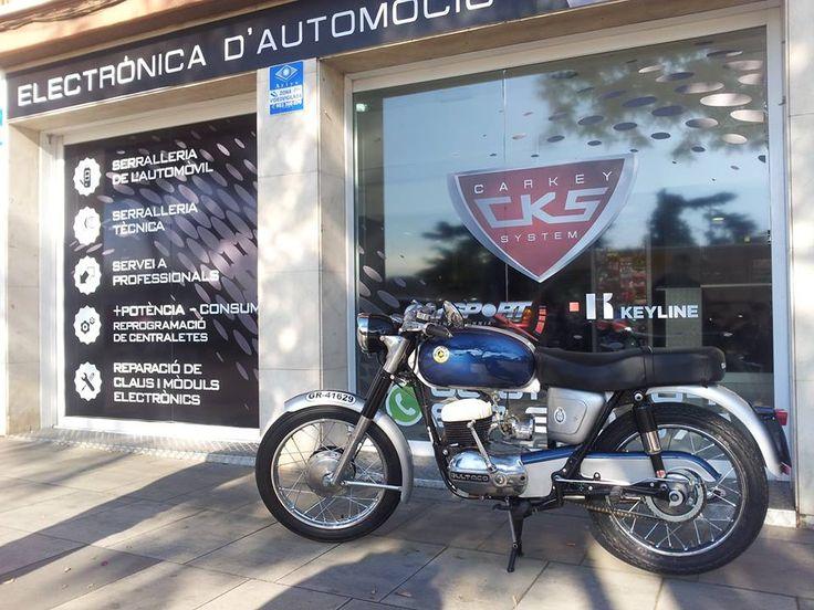 Copia de llaves de Bultaco Mercurio de los años 1963-1966