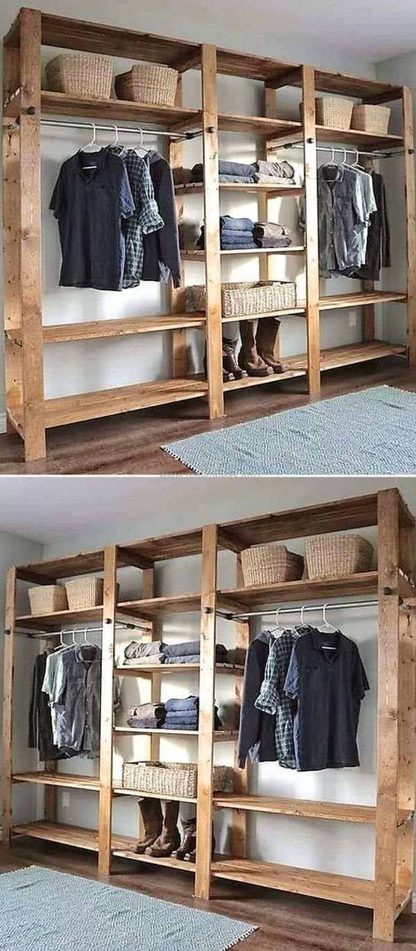 Acessorio organizing in pinterest bedroom wooden closet