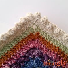 You can make this border with ANY weight of yarn and size of hook - and give your project a great textural pop! The Popcorn Border makes a great crochet edging for blankets, baskets, scarves… anything you like! And popcorn stitches are just plain fun to make too!
