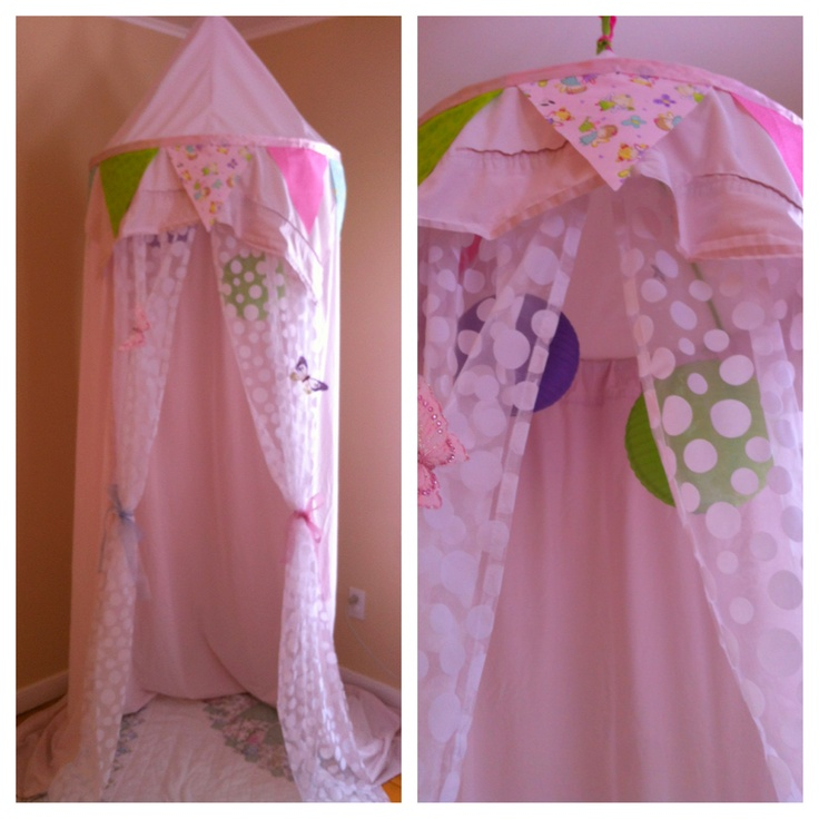 DIY play tent/canopy & 25 best princess tent ideas images on Pinterest | Child room ...