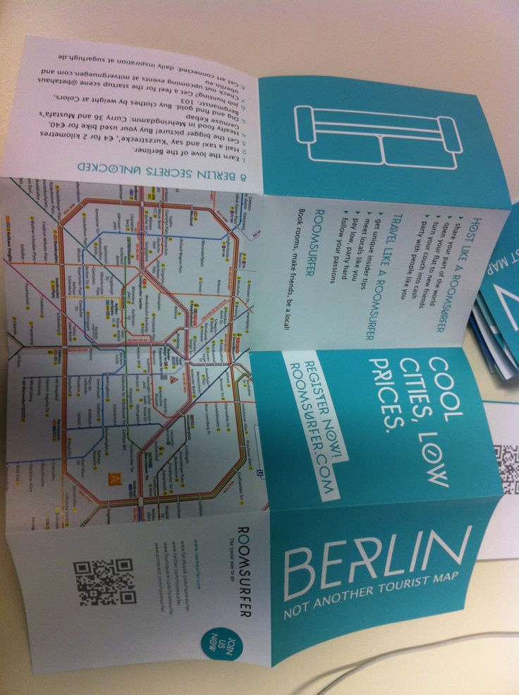Our blog is included among #Berlin's best-kept secrets in the @Roomsurfer Map! #RoomsurferSpirit