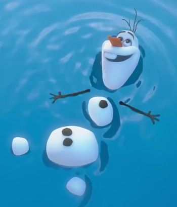 """put me in summer and ill be a.....HAPPY SNOWMAN"" ~Olaf"