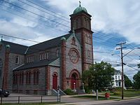 Our Lady of the Assumption Catholic Church in Saint John, New Brunswick