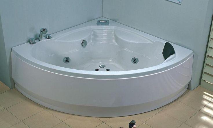 Baignoire Balneo Hydromassante Dalia chez http://www.items-france.com/salle%20de%20bain/baignoire%20d%20angle-pas-cher-2176.html