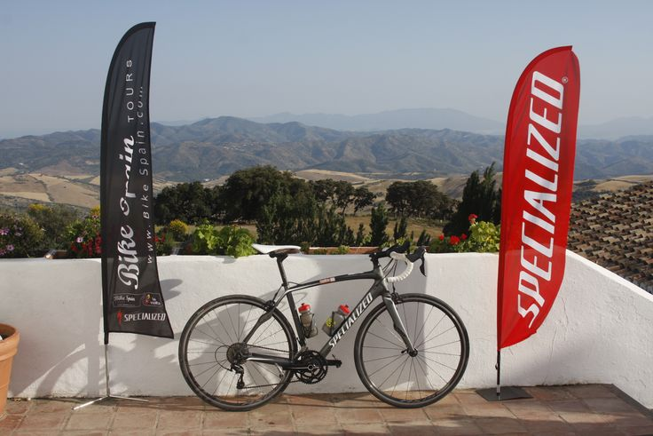 Cycling with a Specialized bike together with Bike Spain Tours, Andalucia Cycling
