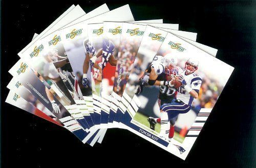 New England Patriots Football Cards - 3 Years of Score Complete Team Sets 2006,2007, & 2008 - Includes Stars like Tom Brady & Randy Moss, Rookies & More - Individually Packaged! by SCORE. $29.88. New England PatriotsFootball Cards - 3 Years of Score Complete Team Sets 2006,2007, & 2008 - Includes Stars like Tom Brady & Randy Moss, Rookies & More - Individually Packaged!