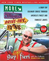 "@Overstock - Food Network star Guy Fieri`s sequel to his top-selling DINERS, DRIVE-INS AND DIVES is another wacky excursion into the great American panorama of unsung foods. He promises nothing but the ""finest and funkiest,"" and that`s what he gives us here, includ...http://www.overstock.com/Books-Movies-Music-Games/More-Diners-Drive-Ins-and-Dives-Paperback/3880473/product.html?CID=214117 $11.92"