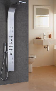 15 pingles colonne de douche incontournables colonne douche colonne salle de bain et douche. Black Bedroom Furniture Sets. Home Design Ideas