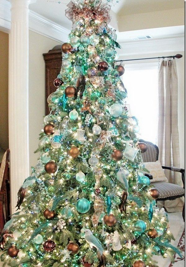 27 Best Turquoise And Gold Christmas Decor Images On