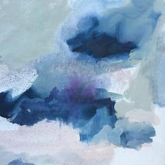'Studio Midnight'. Abstract on Canvas. SOLD.