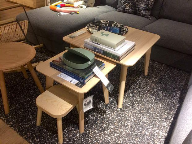 Les 25 meilleures id es de la cat gorie tables gigognes sur pinterest table - Ikea tables gigognes ...