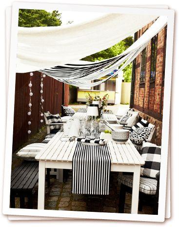 lut arrive bientt et avec lui luenvie duune dco de table qui rveille nos repas dans le jardin ou. Black Bedroom Furniture Sets. Home Design Ideas