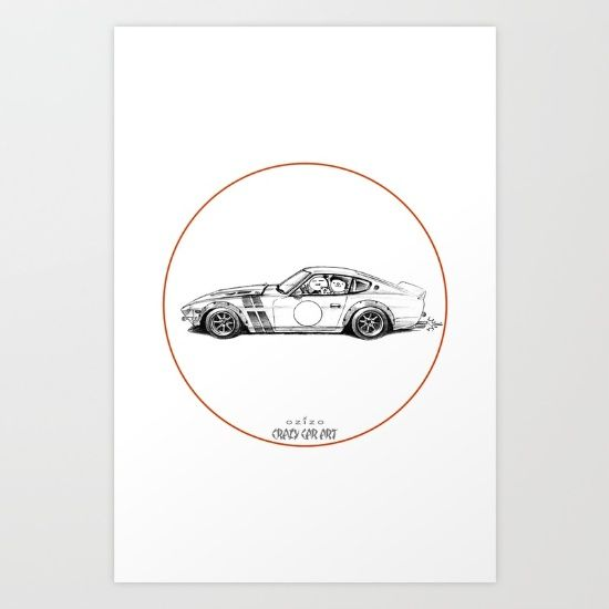 Crazy Car Art 0001 - $20