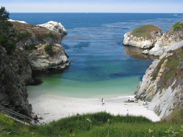 China Cove In California The Sweetest Little Http Www Lotsafunmaps Monterey And Gibsons Beach Html Pinterest F C