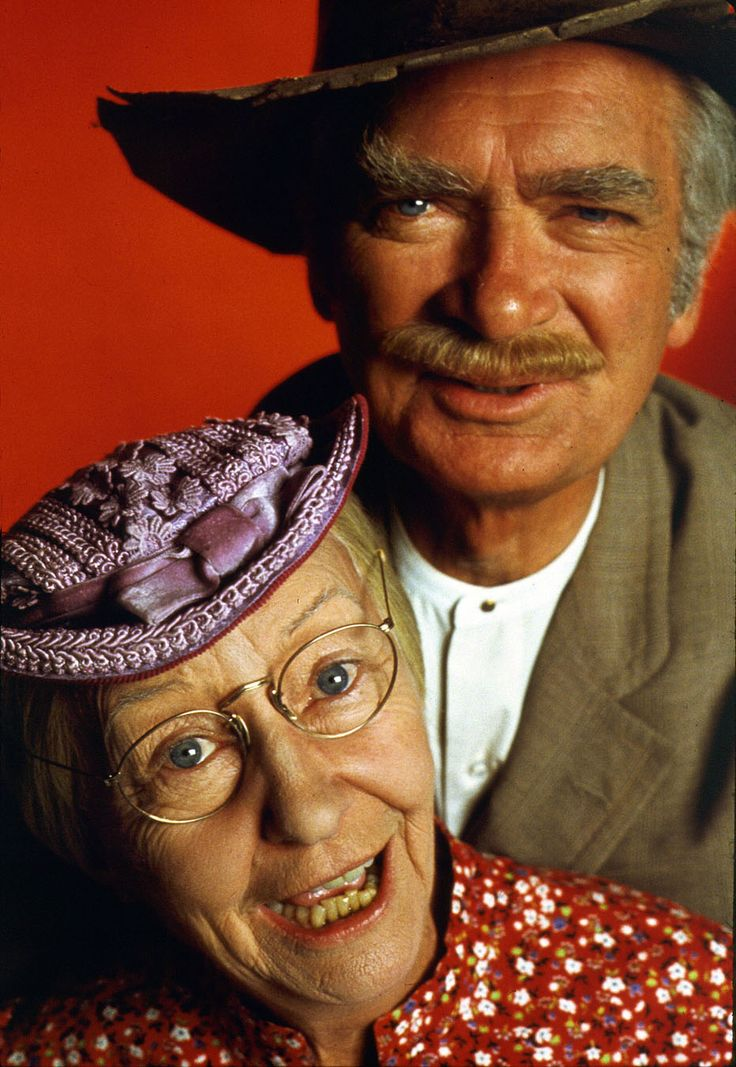 Irene Ryan and Buddy Ebsen