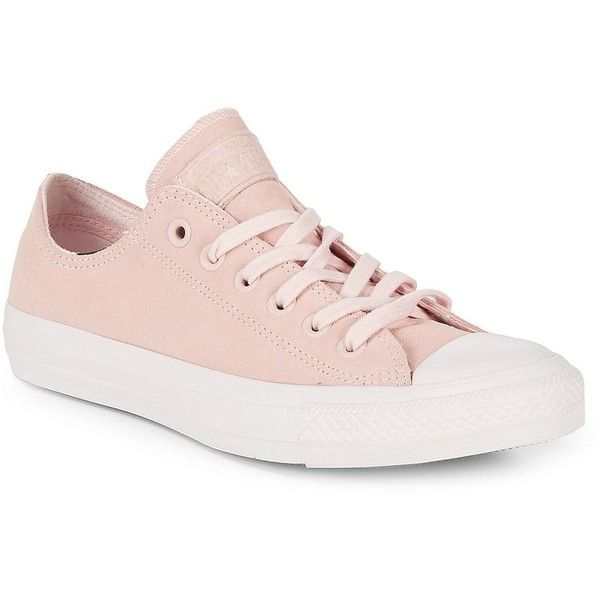 Converse Women's Low Top Lace Up Leather Sneakers (225 PEN