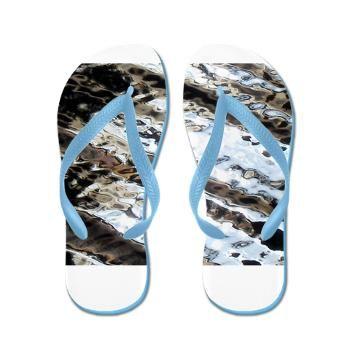 Glittering Flip Flops