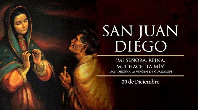 Hoy se celebra a San Juan Diego, el vidente de la Virgen de Guadalupe