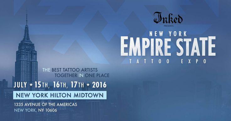 Inked Magazine Presents the 2014 NY EMPIRE STATE TATTOO EXPO