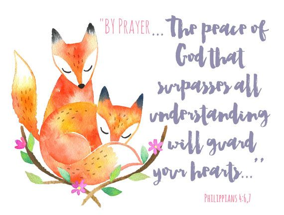 Peaceful by prayer jw greeting cards nice