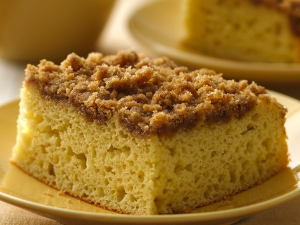 GF Cinnamon Streusel Coffee Cake