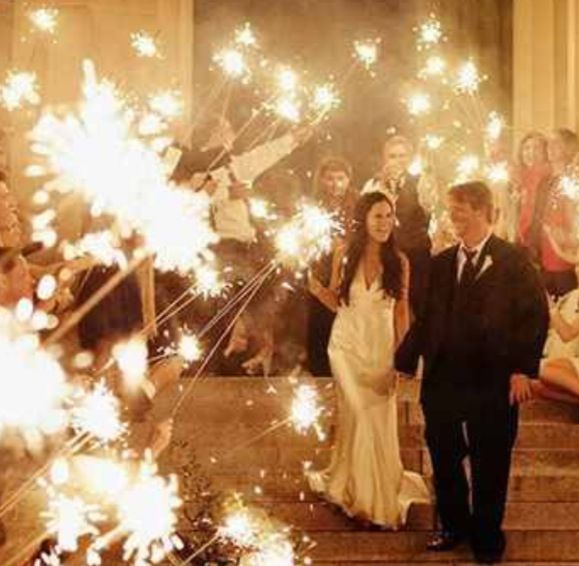 Sparklers at Engagement Party?! Maybe...