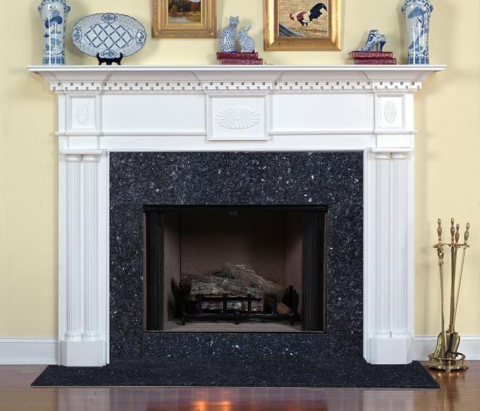 Columbia Custom Fireplace Mantel Traditional Mantels