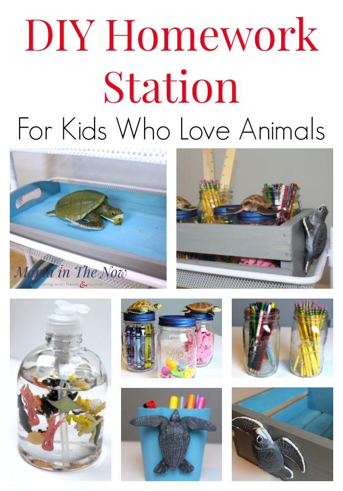 DIY a beautiful homework station with a fun animal-theme using animals from Safari Ltd. Cut down on the time it takes to do homework, increase productivity, enjoy homework without tears with this school supply station featuring Safari Ltd toys!