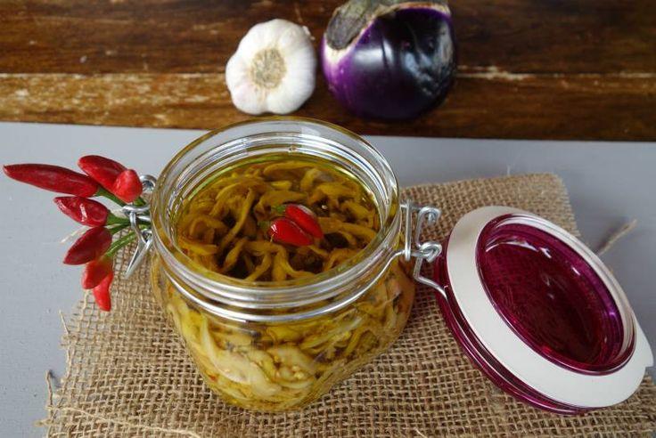 Melanzane sott'olio alla siciliana ricetta senza cottura