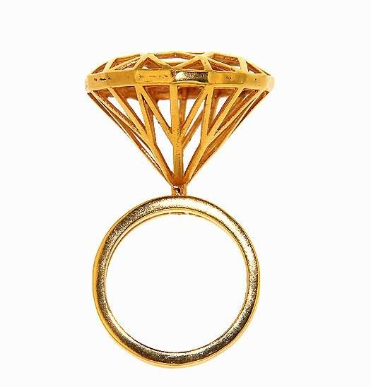 THE ENGAGEMENT #RING - A DIFFERENT #DIAMOND published on #VogueAccessory Italia December  #Vogue #accessory #jewelry #jewels #bijoux #fashion #cool #modern  by #LAMANDRAGORAJEWELRY