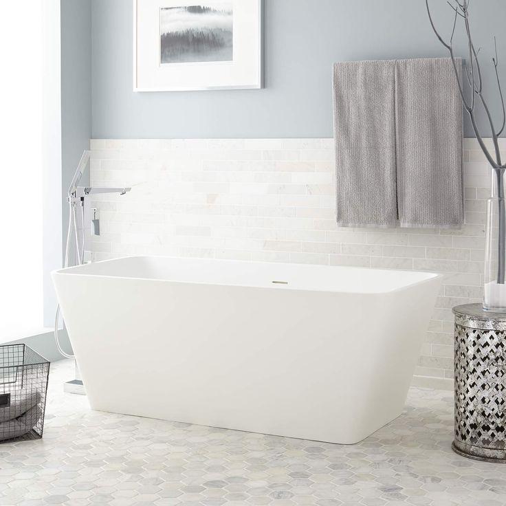 Best 25 freestanding tub ideas on pinterest bathroom tubs bathtub ideas and freestanding bathtub for Woodbridge 54 modern bathroom freestanding bathtub