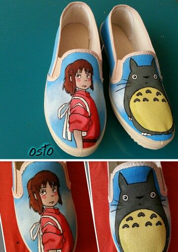 Spirited  away osto_shoes