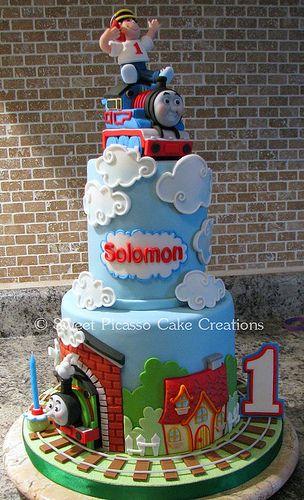 Thomas the Train CakeTraining Cake, Birthday Parties, Thomas The Training, Cream Cheese, Cake Ideas, Thomas Cake, Thomas Birthday, Parties Ideas, Birthday Cake