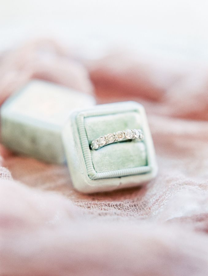 awesome Bague de Fiançailles - Tendance 2017/2018  : A wedding band that will definitely turn heads: www.stylemepretty... Photography...