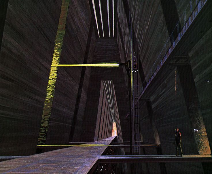 70s Sci-Fi Art - Ralph McQuarrie's Battlestar Galactica concept art