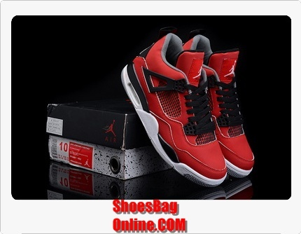 "【Air Jordan 4(IV) ""Fire Red Suede""】http://www.shoesbagonline.com/New-Jordan-4-1%EF%BC%9A1-Men-Shoes-15-p149657.html"