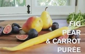 Fig, Pear, & Carrot Puree | Baby Food | Pinterest