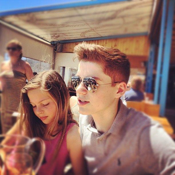 Jack And Finn Harries Girlfriend Jack Harries and his l...