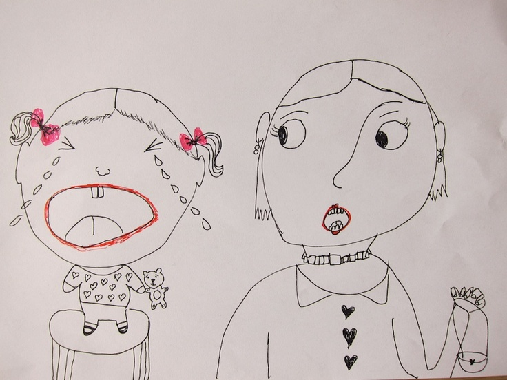 Line Drawing Of Child S Face : Best kids art images kid drawings children