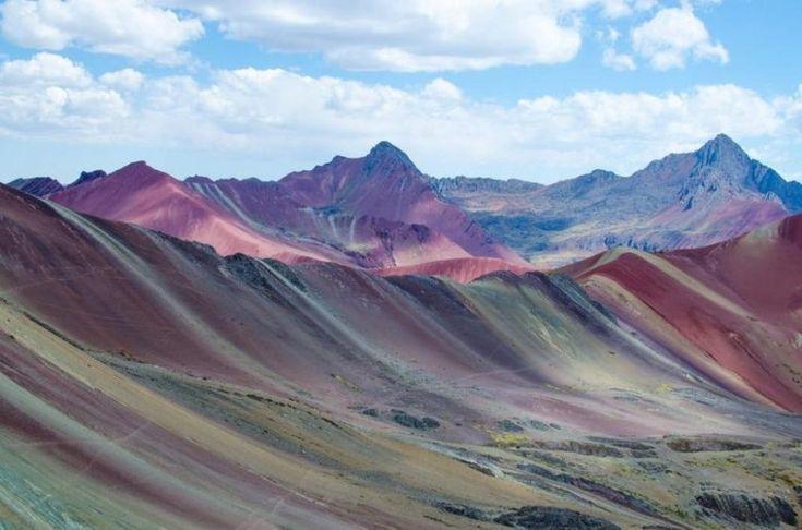Завораживающие радужные горы / Туристический спутник