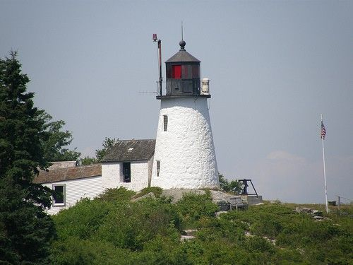 Burnt Island Light, Boothbay Harbor, Southern Maine