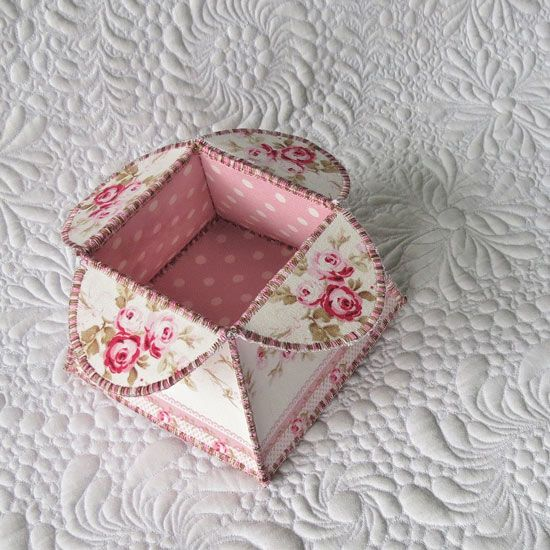 Flower Box Tutorial /Geta's Quilting Studio